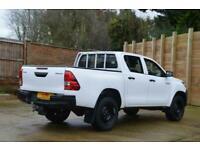 2016 66 TOYOTA HI-LUX 2.4 ACTIVE 4WD D-4D DOUBLE CAB PICK UP 148 BHP DIESEL