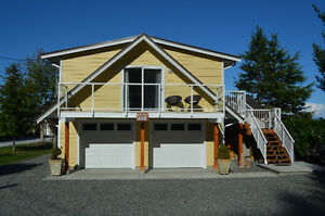 NEW PRIVATE  OCEANVIEW CARRIAGE HOME SUITE IN COMOX