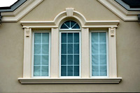 Stucco and molding design