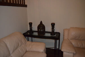 Extra large distressed candle sticks