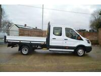 2018 FORD Transit 350 2.0 TDCI Euro 6 Double Cab Dropside 130ps DIESEL MANUAL
