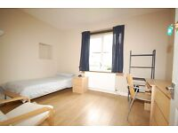 Budget single and twin rooms available for the Edinburgh Festival.