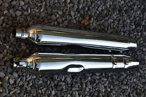 Harley Road King Classic factory exhaust pipes