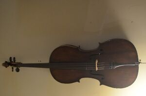 Early 1900s Cello Imported from England