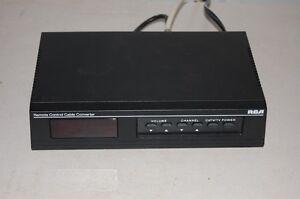 RCA Remote Control Cable Converter