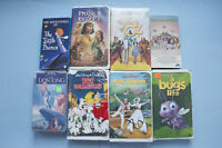 kids' movies on VHS