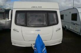 2012 Lunar Delta Ti - 4 Berth - Transverse Island Bed - Touring Caravan SOLD