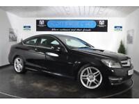 2012 MERCEDES C-CLASS C220 CDI BLUEEFFICIENCY AMG SPORT COUPE DIESEL