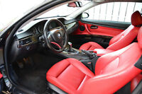 2007 BMW 3-Series 328i Coupe - BLACK ON RED INTERIOR