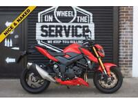 2017 17 SUZUKI GSX-S750 ABS L7 PEARL MIRA RED, LOW MILEAGE EX DEMO BIKE!