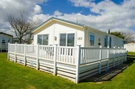 Serenity Lodge with Decking- WHITLEY BAY HOLIDAY PARK