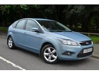 2009 FORD FOCUS ZETEC HATCHBACK PETROL