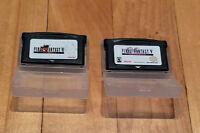 Final Fantasy 5 Final Fantasy 6 FF5 FF6 Game Boy Advance
