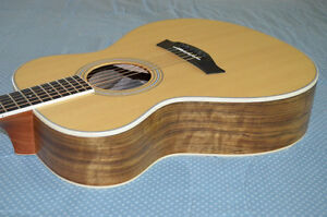 2011 Rare Taylor GC4  Grand Concert Ovangkol Bookmatched Back