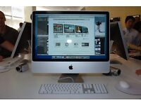 "iMac 24"" 2,8Ghz 4Go ram with brand new 320Go HDD on El Captain OSX"