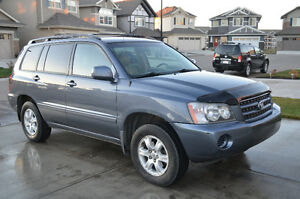 2002 Toyota Highlander Fully Loaded with Leather