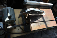 Banc  scie table saw