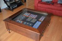 Gibbard Mahogany Display Table