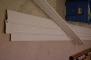 4 - 14 ft. pieces of brand new mdf (wide) baseboard $50.00 obo