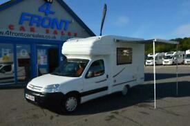 NuVenture Surf CITROEN BERLINGO LEZ COMPLIANT 2 BERTH 3 TRAVELLING SEATS