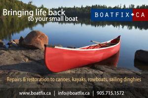 CANOES & KAYAK REPAIRS