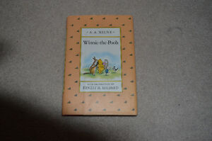 Hard Cover Winnie the Pooh book Kitchener / Waterloo Kitchener Area image 1