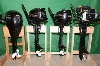 Small outboard motors 4 stroke. For inflatable boats.