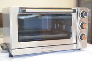 Cuisinart petit four convection / Convection toaster oven broile
