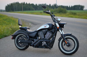 2013 Victory Highball with Hacker Pipes (Zoomies)