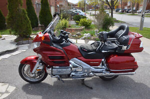 2008 Goldwing (Gold Wing) GL1800 excellent condition-Loaded