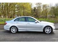 2009 MERCEDES C-CLASS C180 KOMPRESSOR BLUEEFFICIENCY SE SALOON PETROL