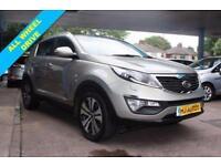 2012 62 KIA SPORTAGE 2.0 CRDI KX-3 AWD SUV 6 SPD DIESEL