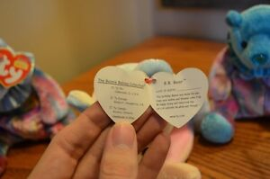 Ty Beanie Babies *Retired & Rare* - Set of 3 Birthday Beanies Sarnia Sarnia Area image 5