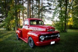 1952 Ford F100 emissions legal Hot Rod pickup