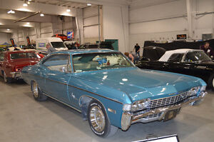 Fully restored 68 chev impala ss