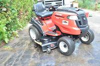 lawnmower tractor