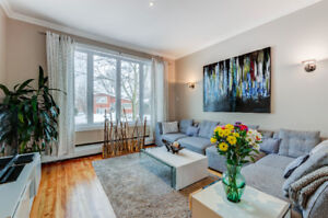 Beautiful, renovated, 4 bdrs house in Cote Saint-Luc