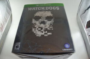 Watchdogs Xbox ONE Collector's Limited Edition COMPLETE
