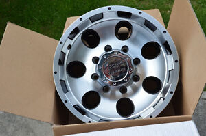 "** New Aluminum 16"" rims - 8 bolt **"