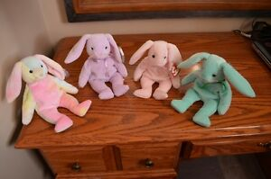 Ty Beanie Babies *Retired & Rare* - Set of 11 Bunnies