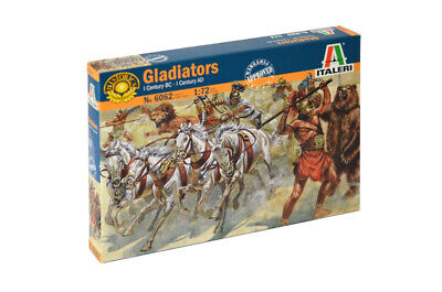 Italeri 1:72 - 6062, Gladiatoren, Modellbausatz unbemalt, Plastikmodellbau