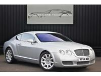 Bentley Continental GT 6.0 W12 * Moonbeam Silver + Beluga Hide + Upgrade Wheels*