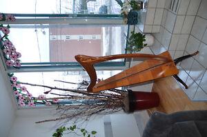Harpe celtique  (33 cordes)