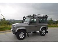 LAND ROVER DEFENDER 90 XS 2.4 TDi, 2007 07 PLATE
