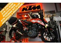 2018 KTM 125 DUKE 17 TOURING***FULLY LOADED***
