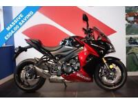 2017 17 SUZUKI GSX-S1000 F CANDY DARING RED / GLASS SPARKLE BLACK, BRAND NEW!