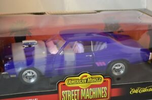 DIECAST ERTL 1/18 1970 Chevy Chevelle SS Street Machine PURPLE