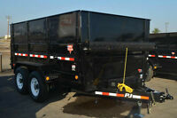 DUMP BINS- TRAILER RENTAL- DISPOSAL BINS- BOBCAT SERVICE
