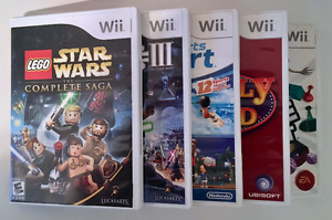 Wii Games: Lego Star Wars, Wii Sports Resort, Family Feud & More