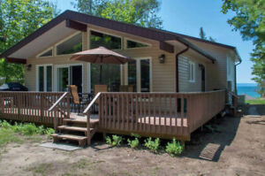 Georgian Bay cottage with walk-in water available this July!